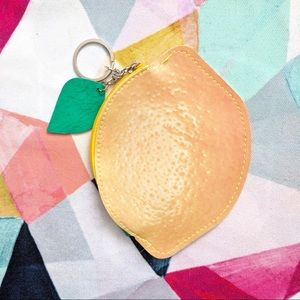 🆕 Fruit Coin Purse - Lemon 🍋
